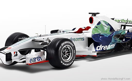 honda racing  reveal  livery  team continue   earth dreams concept