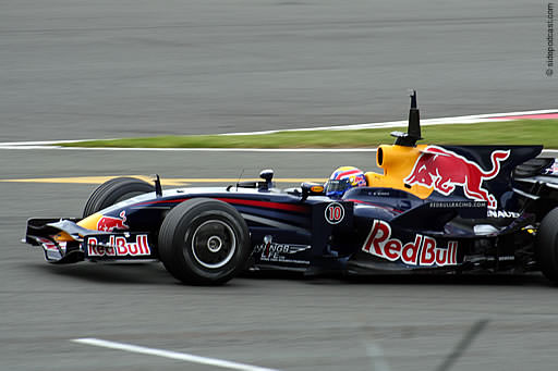 Webber testing at Silverstone