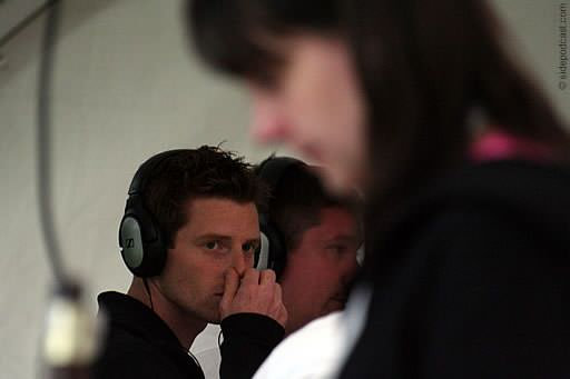 Anthony Davidson, David Croft and Christine