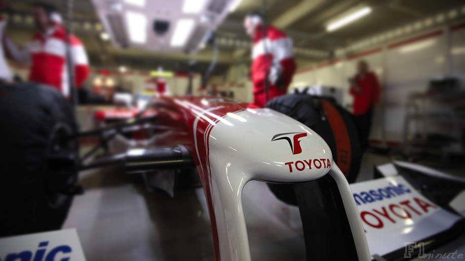 Toyota launch the TF109 online