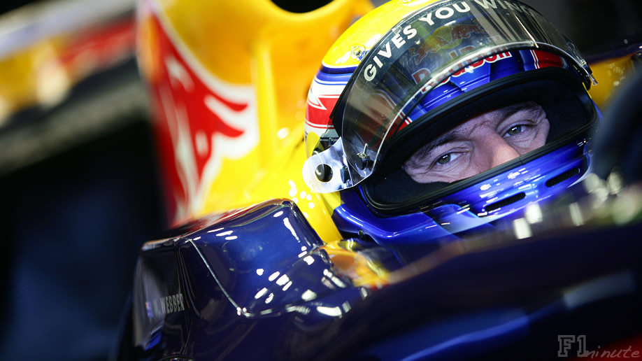 Mark Webber returns to testing action in Jerez
