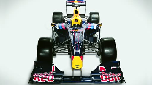 Red Bull RB5 front view