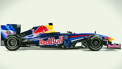 Red Bull RB5 side profile