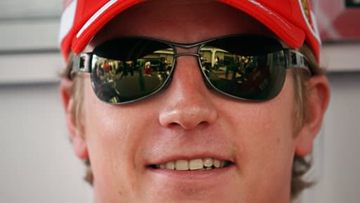 Kimi is the best looking driver of 2009