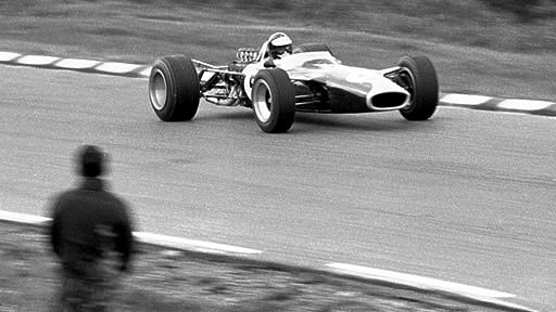 Jim Clark at Watkins Glen