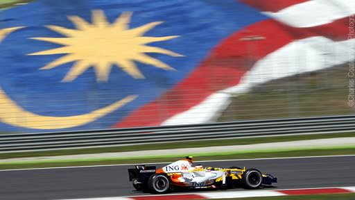 Renault in Sepang