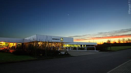 The Renault Factory in Enstone
