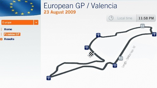 Renault live map