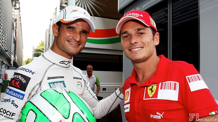 Tonio Liuzzi steps up to replace Fisichella in Italy