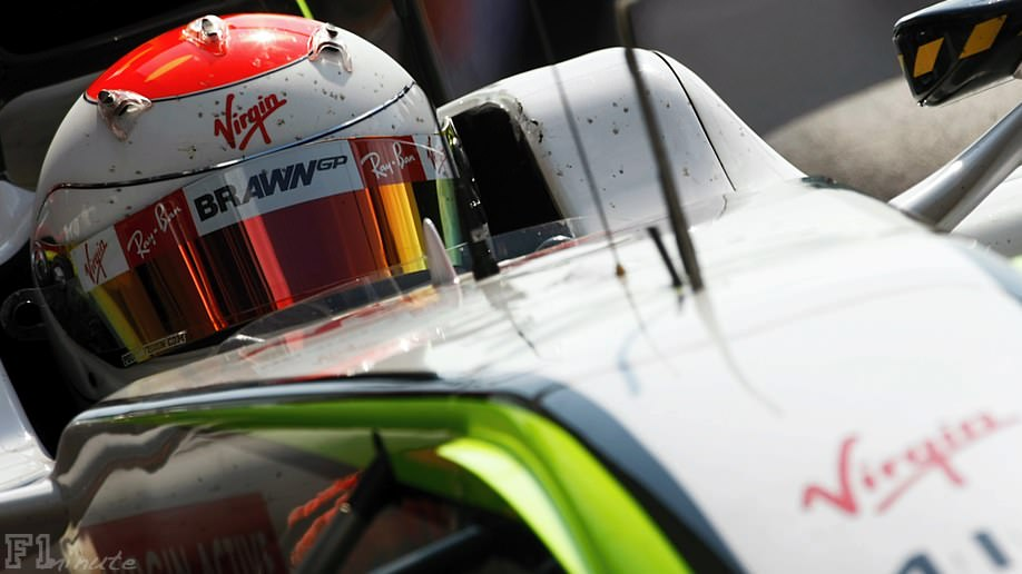 Rubens Barrichello starts 5th in the Italian Grand Prix