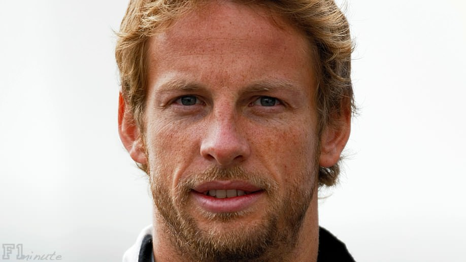 Jenson Button crashed out of the Belgian GP