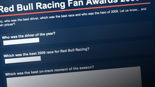 Red Bull fan awards