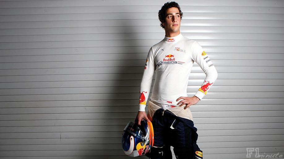 Daniel Ricciardo impresses during Red Bull test
