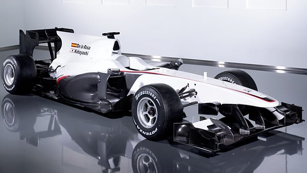 The new C29 chassis from BMW Sauber.