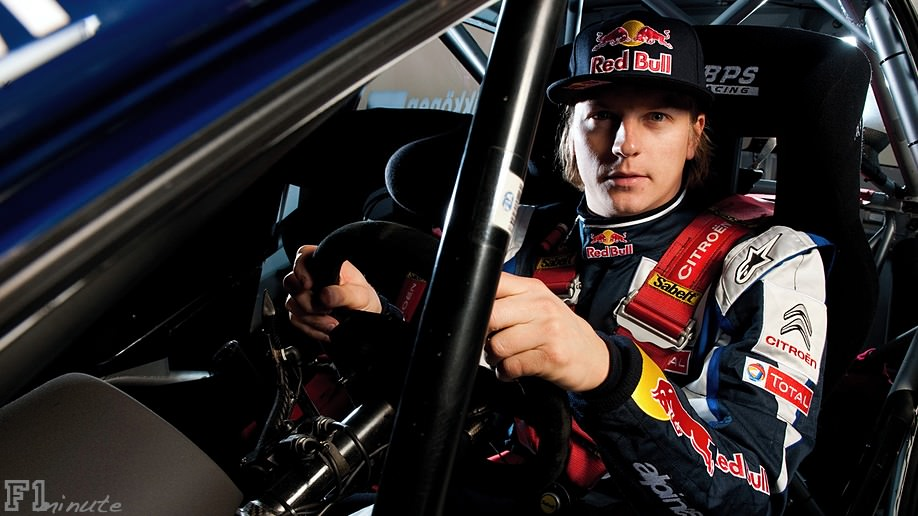 Kimi Räikkonen makes his official rally debut in the Arctic Rally