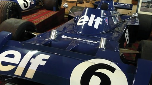 Jackie Stewart's final Grand Prix car, the Tyrrell 006/2