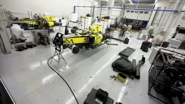 Renault f1 time lapse video from turkey a glimpse for Credit garage renault