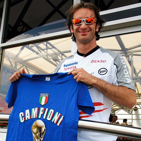 Sidepodcast F1: Four years ago Jarno Trulli was celebrating Italy's triumph in the 2006 World Cup.