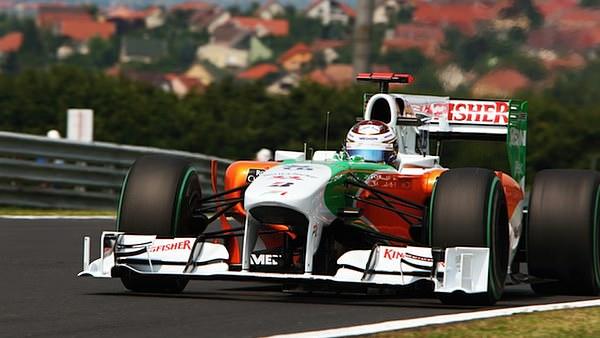 Adrian Sutil in Hungary