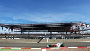 Silverstone is still very much under construction.