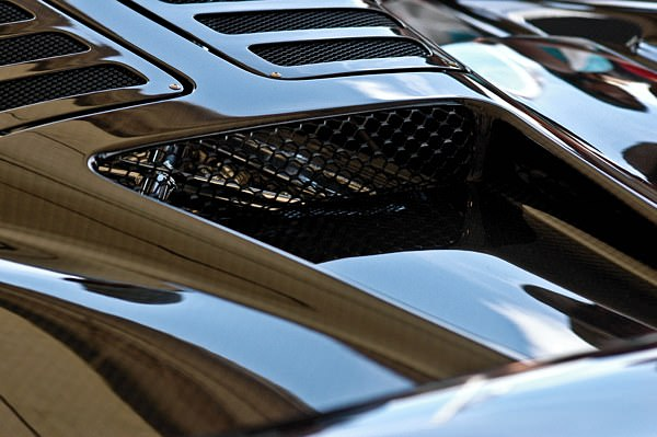 Close up on the Pagani Zonda F.