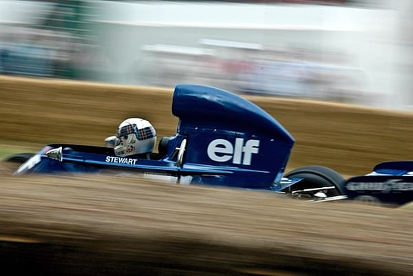 Paul Stewart speeds up Goodwood Hill
