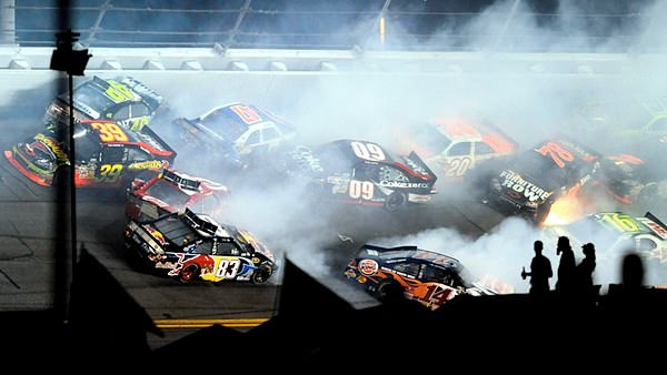 That's how they do it in the NASCAR Sprint Cup at Daytona