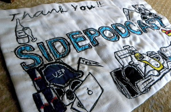 The Sidepodcast banner