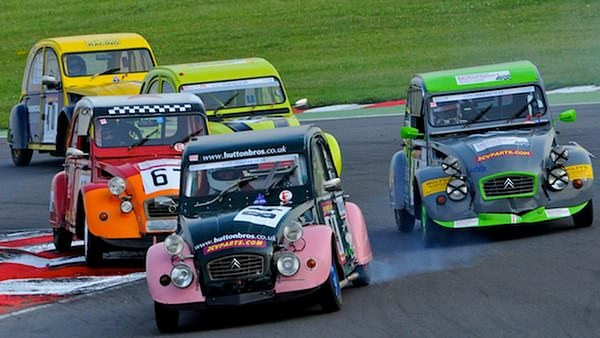 24 hour 2CV racing, this year with added coverage.