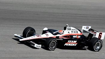 Ryan Briscoe secured his 3rd pole of the year.