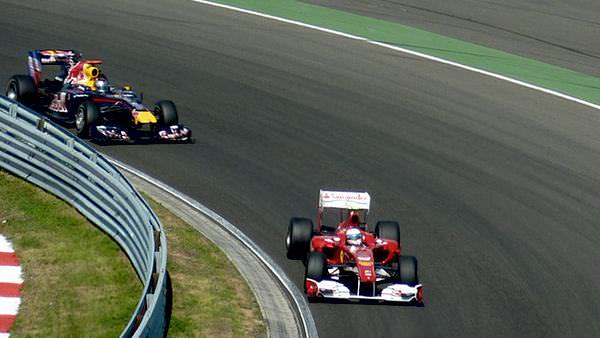 It was Vettel versus Alonso all over again