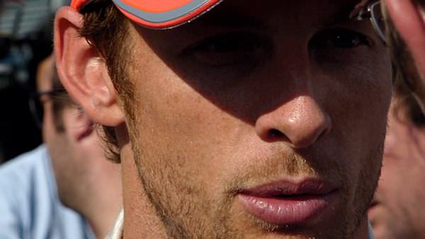 Getting up close and personal with Jenson Button