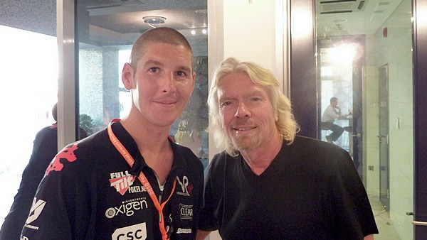 Alex meets Richard Branson!