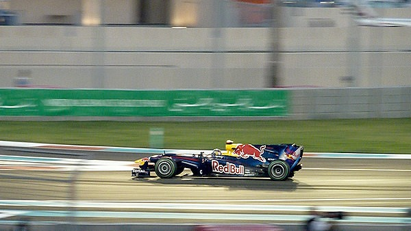 Sebastian Vettel storms to pole position in Abu Dhabi