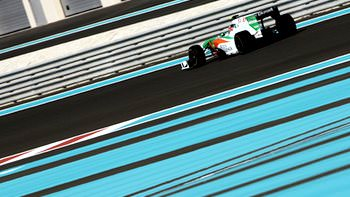 Force India get both cars into Q2 in Abu Dhabi