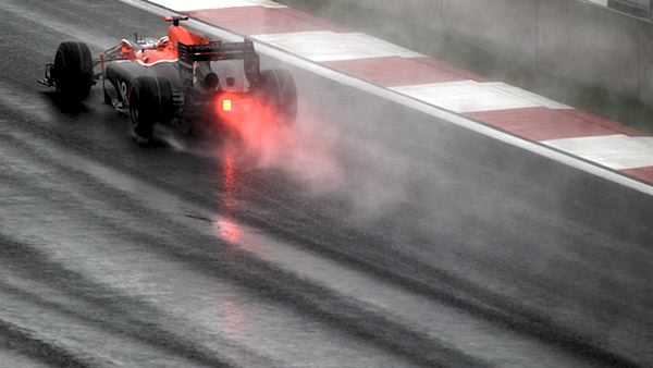 Virgin Racing navigate a wet Korean track - will we see the same this weekend?