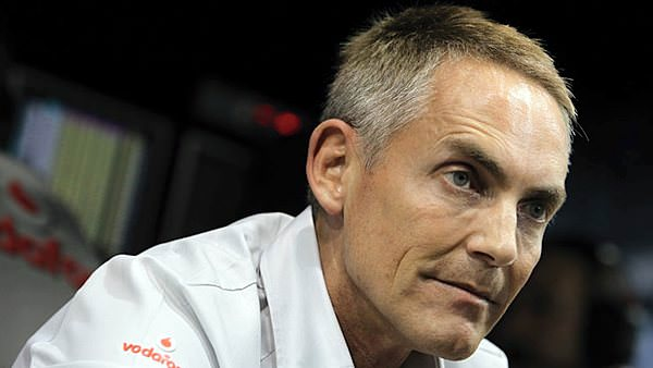Martin Whitmarsh ponders during the Abu Dhabi GP weekend