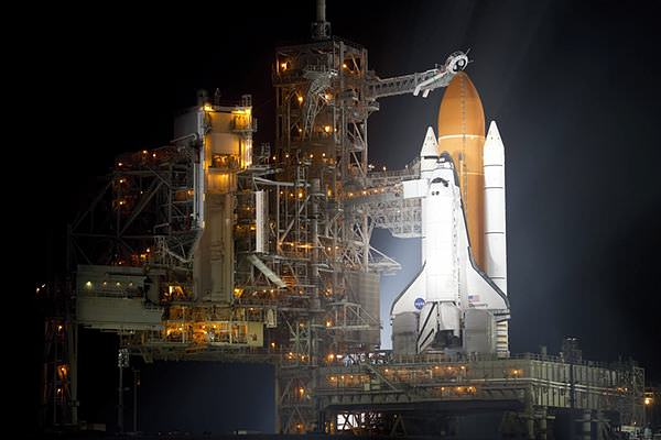 Sidepodcast F1: The space shuttle Discovery, ready for launch