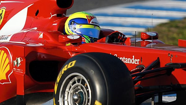 Felipe Massa gets his Jerez test off to a good start