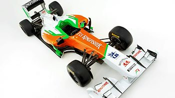 Force India reveal their 2011 car