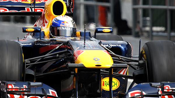 Sebastian Vettel leads the way on second day of Barcelona test