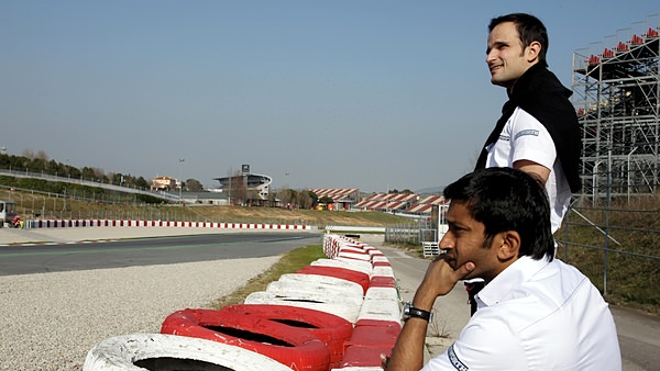 Liuzzi and Karthikeyan are sidelined in Barcelona