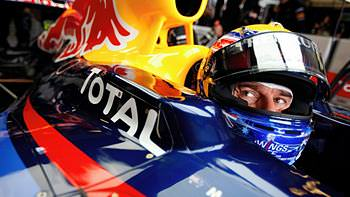 Mark Webber makes himself at home
