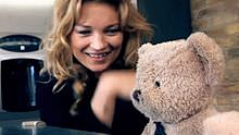 Misery Bear and Kate Moss