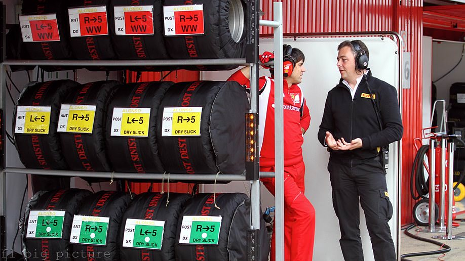 Ferrari are on top form, but concerned about Pirelli's tyres