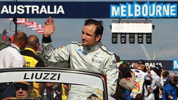 The most racy Liuzzi got all day
