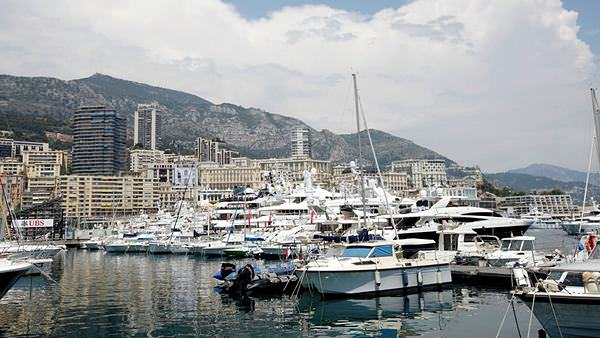 Enjoy the scenery during free practice in Monaco