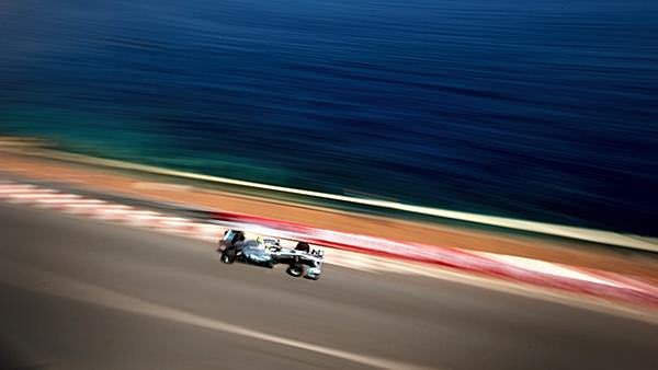 Monaco, where even F1 practice is a beautiful sight