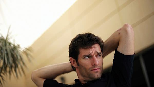 Mark Webber ponders the future of the Bahrain GP
