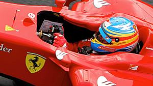 Fernando Alonso takes surprise win at British Grand Prix